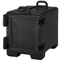 Cambro 1318CC110 Combo Carrier Black Front Loading Insulated Tray / Sheet Pan and Food Pan Carrier