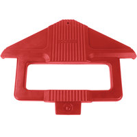Carlisle 668405 Six Star Red Sneeze Guard Post