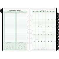 Day-Timer 91010 5 1/2 inch x 8 1/2 inch Dated Two-Page-Per-Week 2020 Organizer Refill
