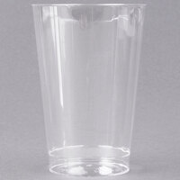 WNA Comet CC12240 Classicware 12 oz. Tall Clear Plastic Fluted Tumbler - 20/Pack