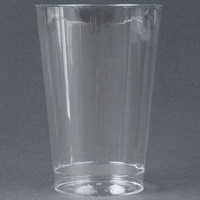 WNA Comet CC12240 Classicware 12 oz. Tall Clear Plastic Fluted Tumbler - 20 / Pack
