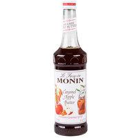 Monin 750 mL Premium Caramel Apple Butter Flavoring Syrup
