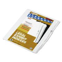Kleer-Fax 91853 90000 Series Legal Exhibit Exhibit C Side Tab Divider - 25/Pack