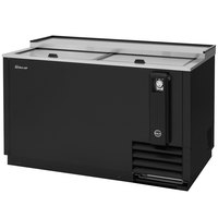 Turbo Air TBC-50SB Black 50 inch Bottle Cooler
