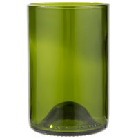 Libbey 97287 12 oz. Green Repurposed Wine Bottle Tumbler   - 12/Case