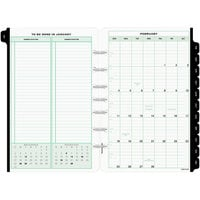 Day-Timer 12010 5 1/2 inch x 8 1/2 inch Dated One-Page-Per-Day 2020 Organizer Refill