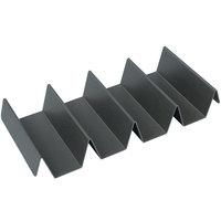Hatco FHS4BOX 10 3/4 inch x 5 inch x 1 3/4 inch 4 Pleat Hardcoated Fry Box Ribbon