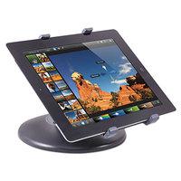 Kantek TS710 Black Swivel Base Tablet Stand