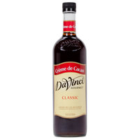 DaVinci Gourmet 750 mL Creme de Cacao Classic Coffee Flavoring Syrup