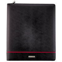 Day Runner 2070399 Deco 8 1/2 inch x 11 inch Black Refillable Planner