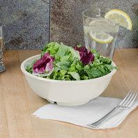 Thunder Group CR5807V 32 oz. Ivory Melamine Salad Bowl - 12/Case