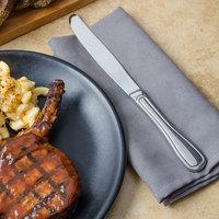 Walco 66451 Saville 9 5/8 inch 18/0 Stainless Steel Heavy Weight European Dinner Knife - 12/Case