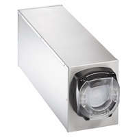 Vollrath G58821 LidSaver™ 2 Countertop 1 Slot Stainless Steel Lid Dispenser Cabinet
