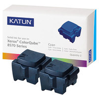 Katun 39395 Cyan Laser Printer Solid Ink Stick - 2/Box