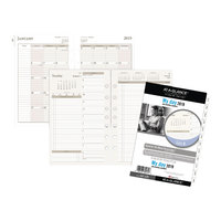 Day Runner 481225 5 1/2 inch x 8 1/2 inch Two-Pages-Per-Day Planning Pages 2019 Planner Refill