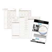 Day Runner 481225 5 1/2 inch x 8 1/2 inch Two-Pages-Per-Day Planning Pages 2020 Planner Refill