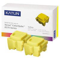 Katun 39399 Yellow Laser Printer Solid Ink Stick - 2/Box