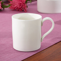 Villeroy & Boch 10-4510-1300 Modern Grace 7 oz. White Bone Porcelain Cup - 6/Case