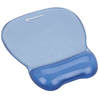 Innovera 51430 Blue Mouse Pad with Gel Wrist Rest