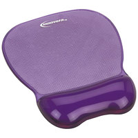 Innovera 51440 Purple Mouse Pad with Gel Wrist Rest