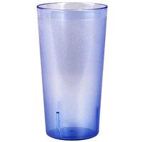 32 oz. Blue Tall Plastic Tumbler - 12/Pack