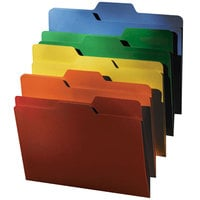 find It FT07070 Letter Size File Folder - Guide Height with 1/3 Cut Assorted Tab, Assorted Color - 80/Pack