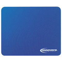 Innovera 52447 Blue Natural Rubber Mouse Pad