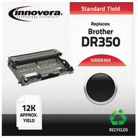 Innovera DR350 Black Fax Machine Drum Cartridge