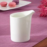 Villeroy & Boch 10-4510-0780 Modern Grace 7 oz. White Bone Porcelain Creamer - 6/Pack