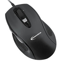 Innovera 61014 Black Optical Full-Size Wired Mouse