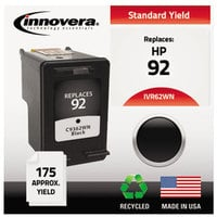 Innovera 62WN Black #92 Inkjet Printer Ink Cartridge