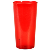 32 oz. Red Tall Plastic Tumbler   - 12/Pack