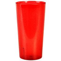 32 oz. Red Tall Plastic Tumbler - 12/Pack