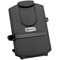 Innovera 59001 11 3/8 inch x 1 3/8 inch x 13 5/8 inch Black 25 Sheet Desktop Copyholder