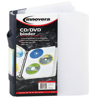 Innovera 39300 90 Disc CD / DVD 3 Ring Binder
