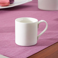 Villeroy & Boch 10-4510-1420 Modern Grace 2.5 oz. White Bone Porcelain Cup - 6/Case