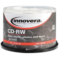 Innovera 78850 12x 700 MB / 80 Min. CD-RW Disc - 50/Pack