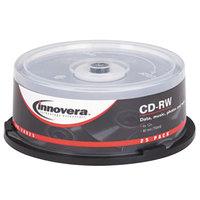 Innovera 78825 12x 700 MB / 80 Min. CD-RW Disc - 25/Pack
