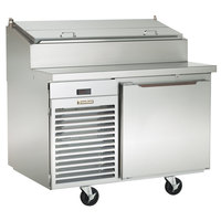 Traulsen TS048HT 48 inch Salad / Pizza Prep Refrigerator with One Door - Specification Line