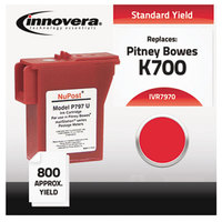 Innovera 7970 Red #7970 Mailing Machine Ink Cartridge