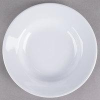 Thunder Group 1106TW Imperial 3 oz. White Wide Rim Melamine Sauce Dish - 12/Pack