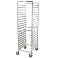 Regency 20 Pan End Load Stainless Steel Bun / Sheet Pan Rack - Assembled