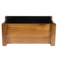 Choice Supreme 22 inch x 14 1/4 inch x 9 inch Full Size Pine Wood Chafer Stand