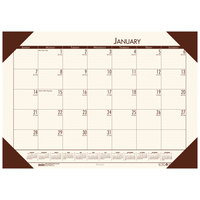 House of Doolittle 12441 Recycled Eco Tones 22 inch x 17 inch Moonlight Cream Monthly January 2020 - December 2020 Desk Pad Calendar
