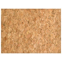 H. Risch Inc. 12 inch x 16 inch Cork Premium Sewn Rectangle Placemat