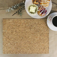 H. Risch Inc. PLACEMATDX-CORK 16 inch x 12 inch Premium Sewn Cork Rectangle Placemat