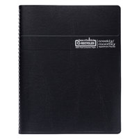 House of Doolittle 28302 8 1/2 inch x 11 inch Recycled Black Ruled Weekly / Monthly January 2020 - December 2020 Appointment Book
