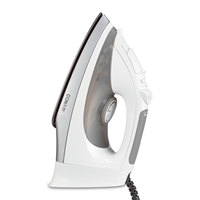 Conair WCI316 White Full-Featured Hospitality Iron, Steam & Dry with Automatic Shut-Off - 120V, 1400W