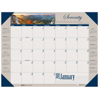 House of Doolittle 175 22 inch x 17 inch Recycled Motivational Photographic Monthly January 2019 - December 2019 Desk Pad Calendar