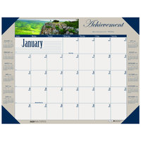 House of Doolittle 175 22 inch x 17 inch Recycled Motivational Photographic Monthly January 2020 - December 2020 Desk Pad Calendar